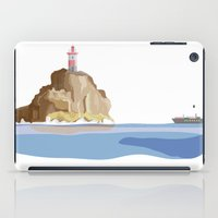 ship iPad Cases featuring Ship by Julia Brnv