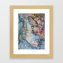 Stone Art Framed Art Print
