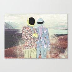 Daft Punk. Canvas Print