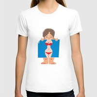 fat T-shirts featuring Sad Fat by truthbeware
