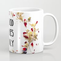 good vibes only Mugs featuring Good Vibes Only by Indiepeek | Marta