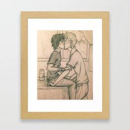 Solangelo in the infirmary Framed Art Print