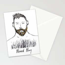 Beard Boy: Nate Stationery Cards