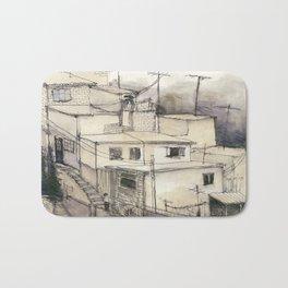 Armenian Rooftops Bath Mat