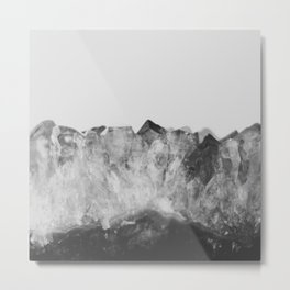 Crystal Soul Geode Metal Print