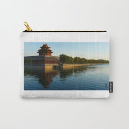Perspective view of the Forbidden City from Beihai Park, Beijing Carry-All Pouch