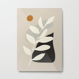 abstract minimal 33 Metal Print