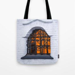 the window in the fairy tale Tote Bag