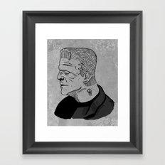 Karloff's Monster Framed Art Print