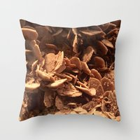 oklahoma Throw Pillows featuring Oklahoma Gypsum  by UMe Images