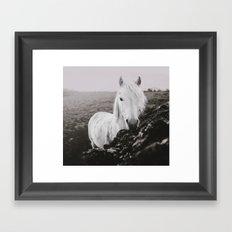 Beautiful Grey Framed Art Print