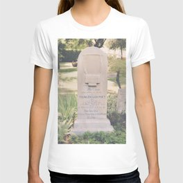 Here Lies John Keats T-shirt