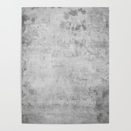 concrete wall vintage grey background,  wall texture * Poster