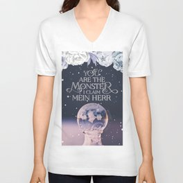 Wintersong - You are the monster I claim Unisex V-Neck