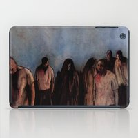 zombies iPad Cases featuring ZOMBIES V by Zombie Rust