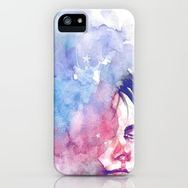 .smoky space. iPhone Case