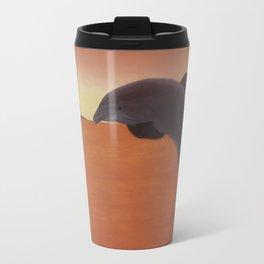 Dolphin Leap of Joy Travel Mug