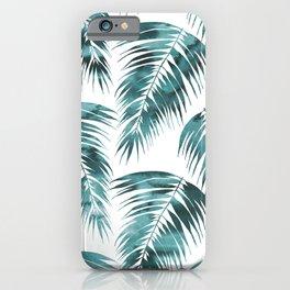 Maui Palm Leaf 2 green iPhone Case