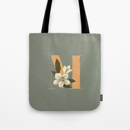 M for Magnolia Tote Bag