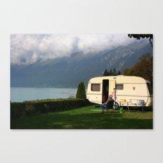 Alpine Lounging Canvas Print