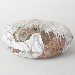 Haflinger Horse Floor Pillow