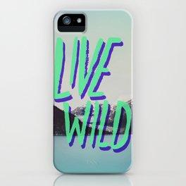 Live Wild: Alaska iPhone Case