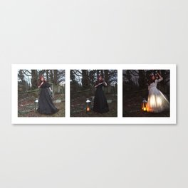 The Lighting of the Lanterns Canvas Print