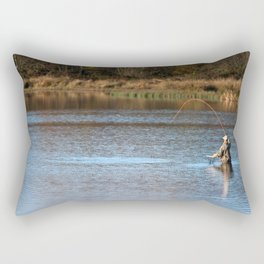 Gone Fishing 2 Rectangular Pillow