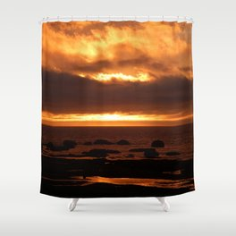 Sensational Sunset Shower Curtain
