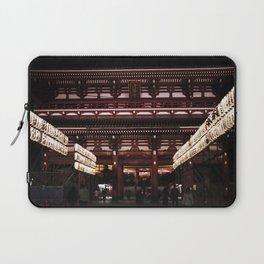 Asakusa sensoji at night 002 Laptop Sleeve