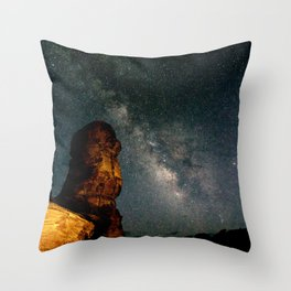 Night Sky II Throw Pillow