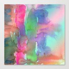Rainbow Waterfall Canvas Print