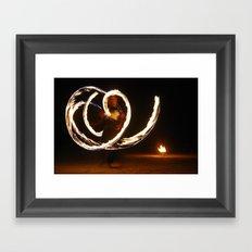 Fireflight Framed Art Print