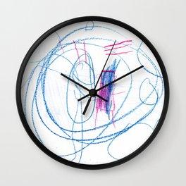 Lines & Circles  Wall Clock