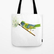 Feathers & Flecks Tote Bag