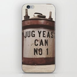 Yeast Can Number 1 iPhone Skin