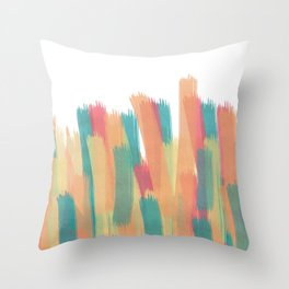 Colorful Explotion Throw Pillow