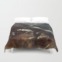 At Hell's Gate Duvet Cover