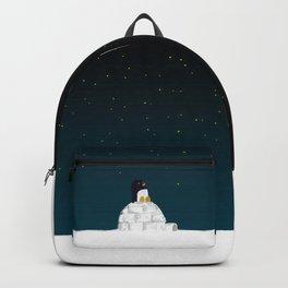 Star gazing - Penguin's dream of flying Backpack