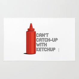 Ketchup Pride - Condiment Race Catsup Rug