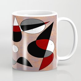 Abstract #154 Lost in the Confusion Coffee Mug
