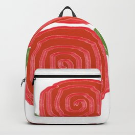 Abstract Carnation 2 Backpack