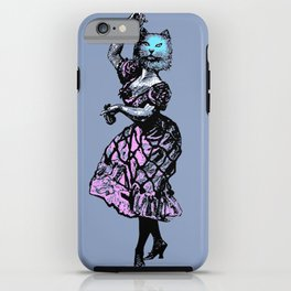 The Flamenco Cat  iPhone Case
