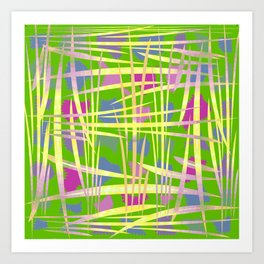 Abstract 9 PD Art Print