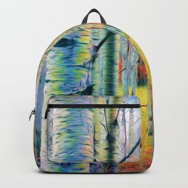Aspen Trees in the Fall Backpack