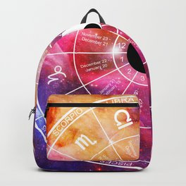 We are one with the universe Backpack