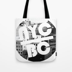 NYC Broken Comedy Tote Bag