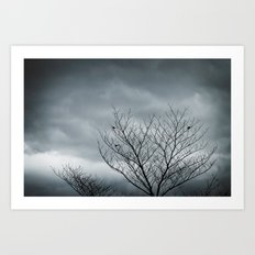 Your Coldness Art Print