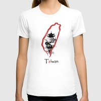 subaru T-shirts featuring Taiwan, Taipei by viva la revolucion