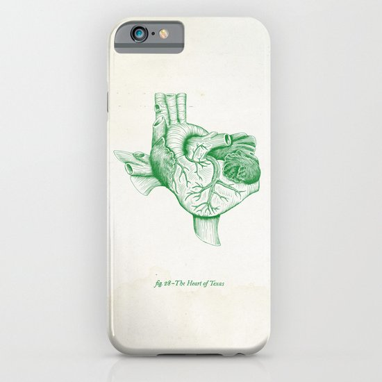 The Heart of Texas (UNT) iPhone & iPod Case